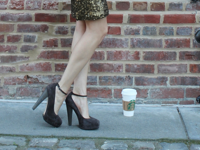 Kitties + Couture: Sequins & Knit #LoveYourLatte