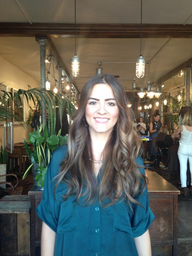 Hair balayage from Population Salon